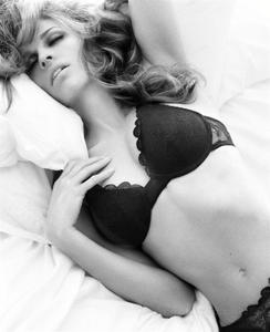 Hilary Swank sexy hot lingerie on a bed