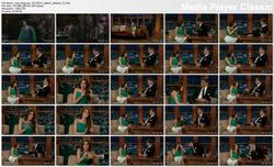 Allison Williams @ Late Late Show w/Craig Ferguson 2013-02-13