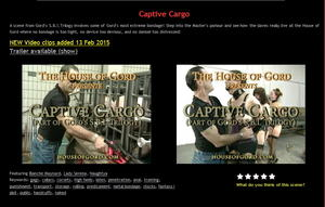 House of Gord: Captive Cargo