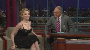 Scarlett Johansson - Late Show with David Letterman (2006-01-10), 720p