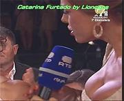 Catarina Furtado super decote na Rtp