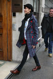 Natalie Imbruglia arriving at BBC Radio One, 02/17/09, x12)