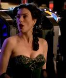 Jaime Murray busty caps in Hustle