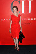 Christina Hendricks @ Carolina Herrera New York Store Opening in NY 9/10/10