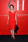 Christina Hendricks @ Carolina Herrera New York Store Opening in NY 9/10/10